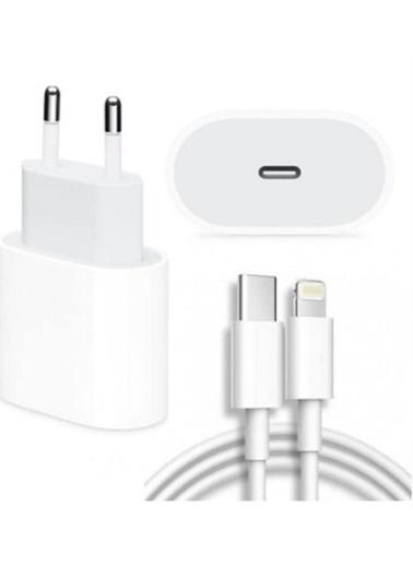 Apple Apple 20w güç adaptörü + 2m USB-C Lightning data şarj kablosu Beyaz